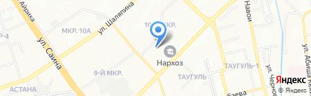 Муравейник на карте Алматы