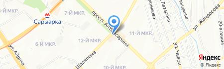 Amiran на карте Алматы