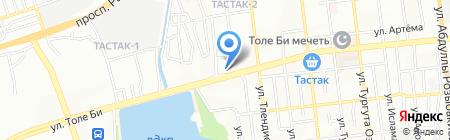 Main Road на карте Алматы