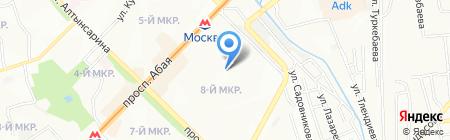 Айнур продовольственный магазин на карте Алматы