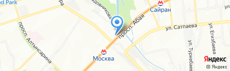 Che Guevara на карте Алматы
