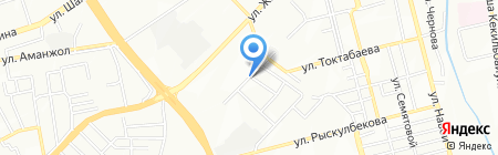 Достар продуктовый магазин на карте Алматы