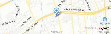 Торгово-монтажная компания на карте Алматы