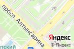 Схема проезда до компании ГАЛ-Ломбард, ТОО в Алматы