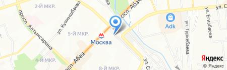 Лейла продуктовый магазин на карте Алматы