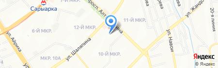 Janbo на карте Алматы