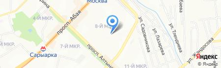 PoliWeb на карте Алматы