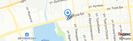 Алма дизайн на карте Алматы