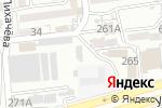 Схема проезда до компании BLOCKBUSTER в Алматы