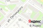 Схема проезда до компании Алма-Мед в Алматы