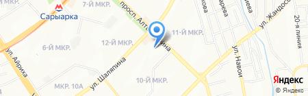 У Дильшода на карте Алматы