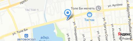 Alibi Travel на карте Алматы