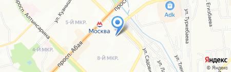 INVETA на карте Алматы