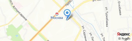 Альянс на карте Алматы