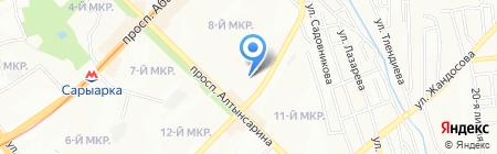 БИКОМТРАНС на карте Алматы