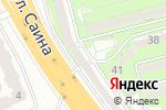 Схема проезда до компании Transatlantic-Kazakhstan Inc. в Алматы