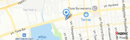 РЭМталь на карте Алматы