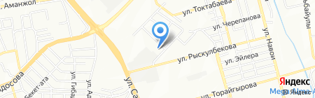 Архимедка на карте Алматы