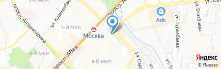 Мастерская по ремонту обуви на карте Алматы