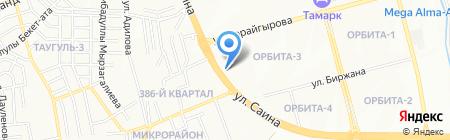 ЭкоДом на карте Алматы