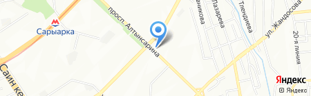 Хозяюшка & Г на карте Алматы