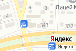 Схема проезда до компании NADOPEN в Алматы