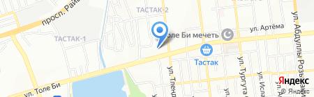 Централизованный архив судов г. Алматы на карте Алматы