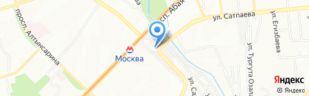 AUTOPLUS на карте Алматы