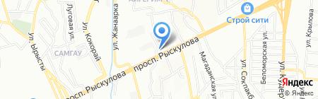 Акжолтай на карте Алматы