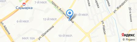 SIMOS L на карте Алматы