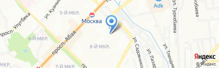 Акватрейд на карте Алматы