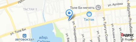 Книжная Фея на карте Алматы