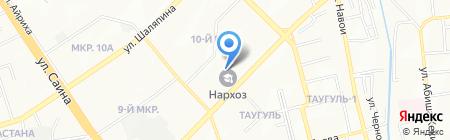 Казахстанско-японский центр развития человеческих ресурсов на карте Алматы