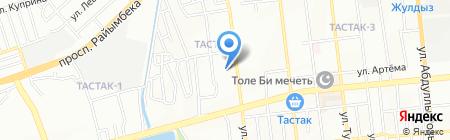 Детский сад №9 на карте Алматы