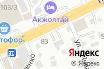 Схема проезда до компании Алматы Крепеж в Алматы