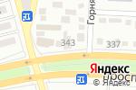 Схема проезда до компании Пусан в Алматы