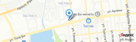 Iron Tiger на карте Алматы