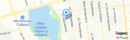 Асу Датчики Сервис Контроль на карте Алматы