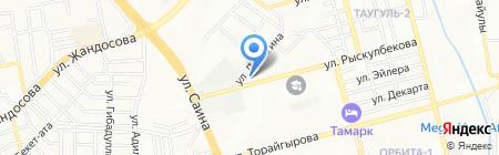 АЭУ-ЕИР на карте Алматы