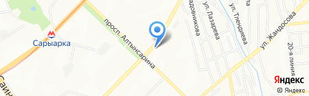 Alen GOLD на карте Алматы