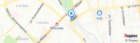 Компьютерный центр на карте Алматы