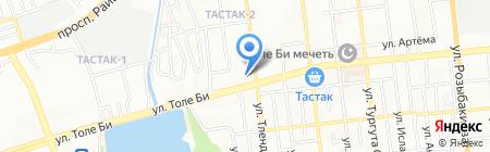 80-90 на карте Алматы