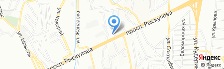 Парваз на карте Алматы