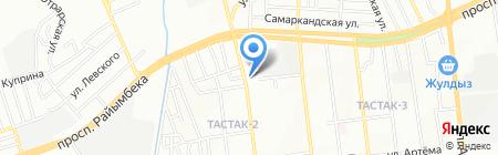 L-Sabina на карте Алматы