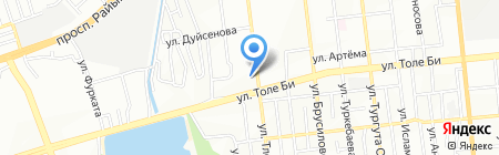 Жанна ателье на карте Алматы