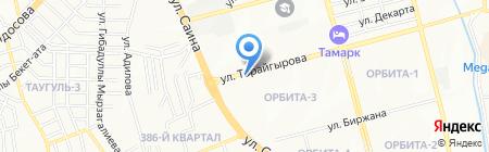 Райхан на карте Алматы