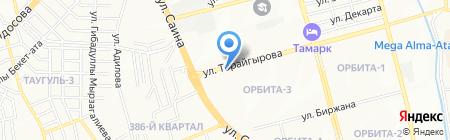 Валентина на карте Алматы