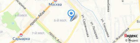 НПО Здоровье на карте Алматы