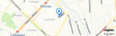 Партнер на карте Алматы