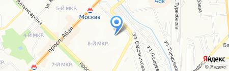 Кристалл на карте Алматы